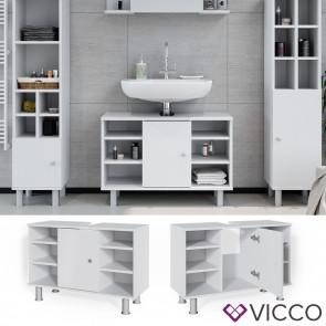 Vicco Waschtischunterschrank Fynn 80 cm Weiß