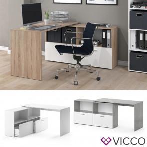 VICCO Eckschreibtisch FLEXI