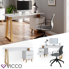 VICCO Schreibtisch Neptune L