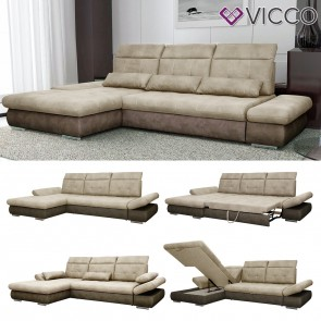 VICCO Ecksofa HAMPTON Links