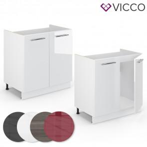 VICCO Spülenunterschrank 80cm FAME-LINE