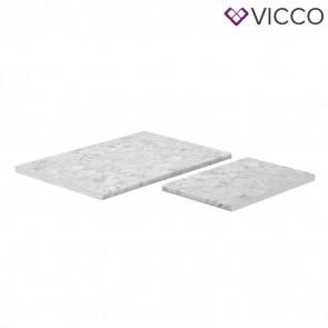 VICCO Arbeitsplatte Eckunterschrank 87 cm R-Line