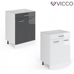 VICCO Schubunterschrank 60 cm R-Line