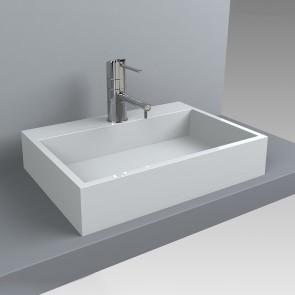 Design Waschbecken MARES 600 x 430 Waschtisch Aufsatzwaschtisch Waschplatz Aufsatzwaschbecken Waschschale Handwaschbecken