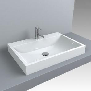Design Waschbecken VARNA 600 x 420 Waschtisch Aufsatzwaschtisch Waschplatz Aufsatzwaschbecken Waschschale Handwaschbecken