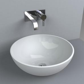Design Waschbecken Allentown 420 x 420 Waschtisch Aufsatzwaschtisch Waschplatz Aufsatzwaschbecken Waschschale Handwaschbecken