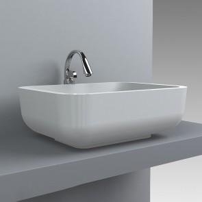 Design Waschbecken Monaco 600 x 450 Waschtisch Aufsatzwaschtisch Waschplatz Aufsatzwaschbecken Waschschale Handwaschbecken